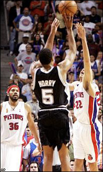Robert Horry is a clutch shooter