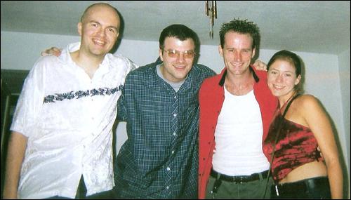 Lou and friends in Orlando, circa 2001