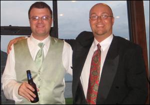 Gary Graham and Lou Pickney