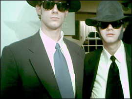 Richard & Andy Karg as the Blues Brothers