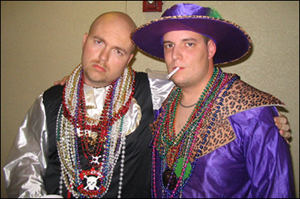 Lou & Bill at Guavaween 2004