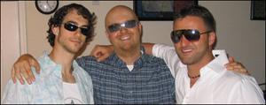 Rich, Lou and Matt